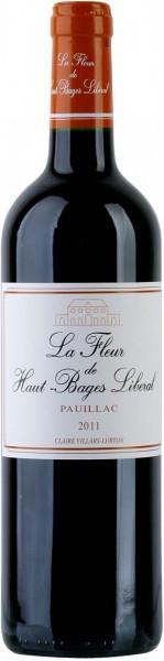 Вино La Fleur de Haut-Bages Liberal, Pauillac AOC, 2011