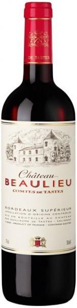 """Вино """"Chateau Beaulieu"""" Comtes de Tastes, 2012, 1.5 л"""