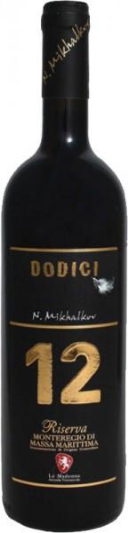 """Вино La Madonna, """"12"""" Dodici Riserva, Monteregio di Massa Marittima DOC, 2010"""