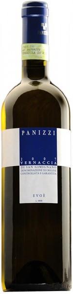 "Вино Panizzi, ""Evoe"", Vernaccia di San Gimignano DOCG , 2007"