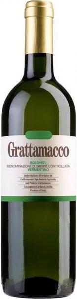 Вино Grattamacco, Vermentino, Bolgheri DOC, 2014
