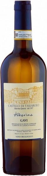 """Вино Castello di Tassarolo, """"Alborina"""" Gavi DOCG, 2014"""