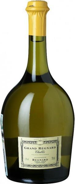 "Вино Chablis ""Grand Regnard"" AOC, 2014, 0.375 л"