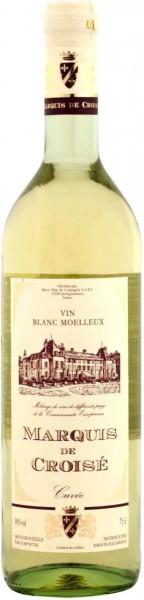 """Вино """"Marquis de Croise"""" Blanc Moelleux"""