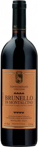 Вино Conti Costanti, Brunello di Montalcino DOCG, 2010