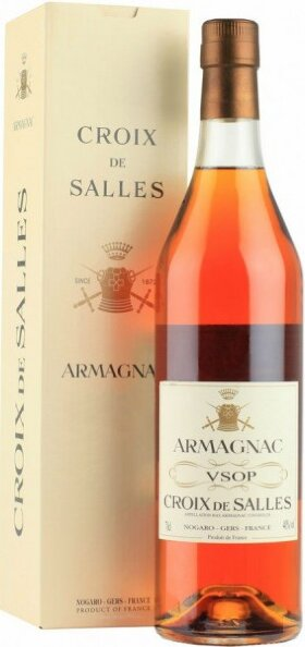 "Арманьяк Dartigalongue, ""Croix de Salles"" VSOP, gift box, 0.7 л"