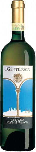 """Вино Abbazia Monte Oliveto, """"La Gentilesca"""", Vernaccia di San Gimignano DOCG"""