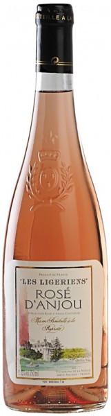 "Вино ""Les Ligeriens"" Rose d'Anjou AOC, 2014"