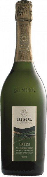 """Игристое вино Bisol, """"Crede"""", Prosecco di Valdobbiadene Superiore DOCG, 2014"""