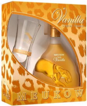 Ликер Meukow Vanilla, gift box with glass, 0.7 л