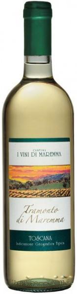 """Вино I Vini di Maremma, """"Tramonto di Maremma"""" Bianco, 2012"""