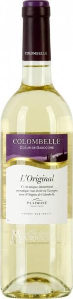 """Вино """"Les Trois Mousquetaires"""", Colombelle """"L'Original"""", Cotes de Gascogne IGP, 2014"""