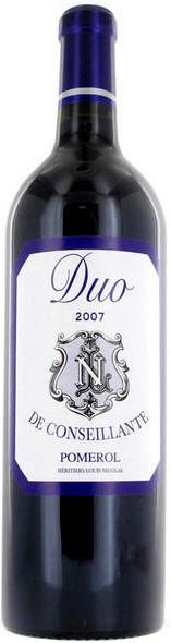 "Вино ""Duo de Conseillante"", Pomerol AOC, 2007"