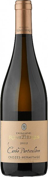 "Вино Domaine des Remizieres, ""Cuvee Particuliere"", Crozes Hermitage AOC Blanc, 2012"
