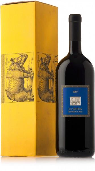 """Вино La Spinetta, Barbera d'Asti """"Ca' di Pian"""", 2007, gift box, 1.5 л"""