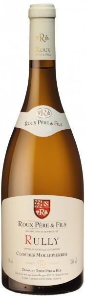 "Вино Roux Pere et Fils, Rully ""Clos des Mollepierres"" AOC, 2013"