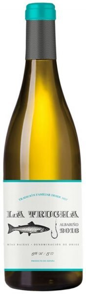 Вино La Trucha Albarino Rias Baixas, 2015