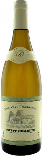 Вино Domaine du Chardonnay, Petit Chablis, 2015