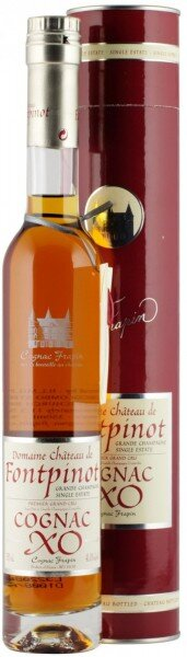Коньяк Chateau de Fontpinot XO Grande Champagne, Premier Grand Cru Du Cognac (in box), 0.35 л