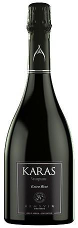 """Игристое вино Armavir Vineyards, """"Karas"""" Extra Brut"""