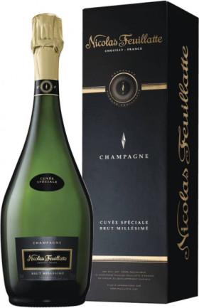 "Шампанское Nicolas Feuillatte, ""Cuvee Speciale"" Millesime Brut, 2008, gift box"