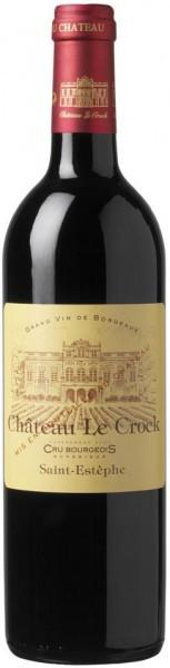 Вино Chateau Le Crock, Cru Bourgeois, 2009, 0.375 л