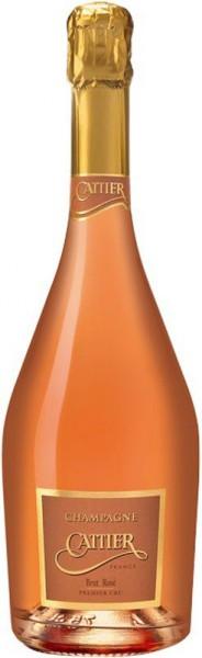 Шампанское Cattier, Brut Rose Premier Cru, Champagne AOC