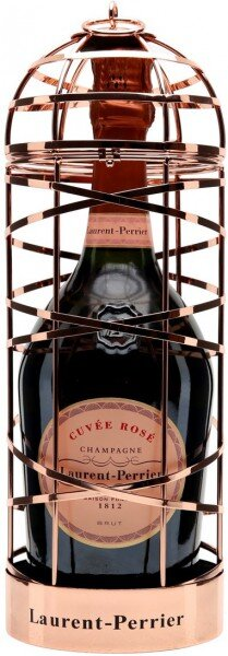 Шампанское Laurent-Perrier, Cuvee Rose Brut, cage