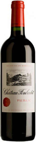 Вино Chateau Fonbadet, Pauillac AOC, 2006, 0.375 л