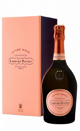 Шампанское Laurent-Perrier Cuvee Rose Brut gift 0.75л