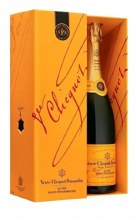 Шампанское Veuve Clicquot Cuvee Saint-Petersbourg 0.75л