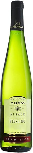 "Вино Jean-Baptiste Adam, ""Tradition"" Riesling, Alsace, 2015, 0.375 л"