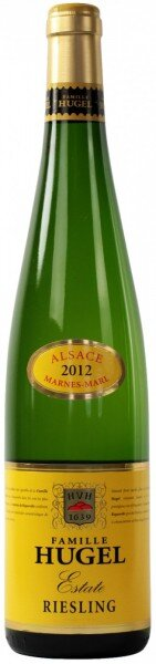 "Вино Hugel, Riesling ""Estate"", Alsace AOC, 2012"