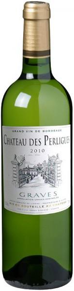 Вино Chateau des Perligues, Graves AOC, 2010