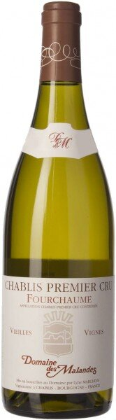 """Вино Domaine des Malandes, Chablis Premier Cru """"Fourchaume"""" AOC, 2013"""
