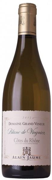 """Вино Domaine Grand Veneur, """"Blanc de Viognier"""", Cotes du Rhone AOC, 2015"""