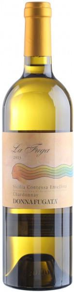 "Вино ""La Fuga"" Chardonnay, Contessa Entellina DOC, 2013"