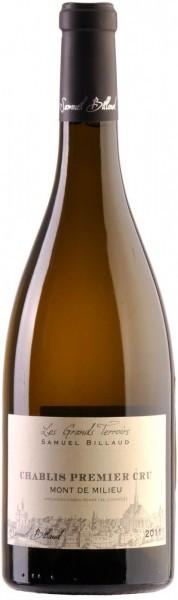 "Вино Samuel Billaud, Chablis Premier Cru ""Mont de Milieu"" AOC, 2011"