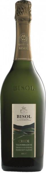 """Игристое вино Bisol, """"Crede"""", Prosecco di Valdobbiadene Superiore DOCG, 2015"""