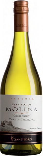 """Вино """"Castillo de Molina"""" Chardonnay Reserva, 2011"""