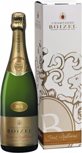 Шампанское Boizel, Brut Millesime, 2002, gift box