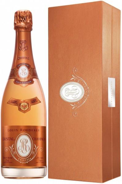 "Шампанское ""Cristal"" Rose AOC, 2006, in gift box"