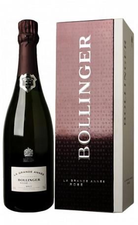 Шампанское Bollinger Grande Annee Rose Brut 2004 0.75л