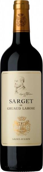 "Вино ""Sarget du Gruaud Larose"", AOC Saint-Julien, 2013"