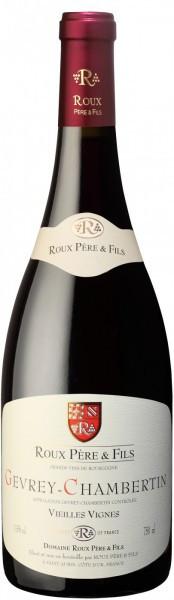 """Вино Roux Pere et Fils, Gevrey-Chambertin """"Vieilles Vignes"""" AOC, 2013"""