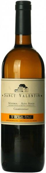 "Вино San Michele-Appiano, ""Sanct Valentin"" Chardonnay, Alto Adige DOC, 2013"