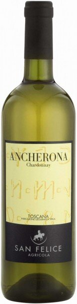 "Вино ""Ancherona"" Chardonnay, Toscana IGT, 2011"