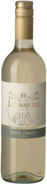 """Вино """"Leonardo"""" Pinot Grigio, Venezie IGT, 2014"""