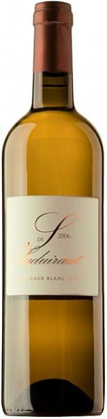 "Вино ""S"" de Suduiraut, Bordeaux Blanc Sec, 2006"