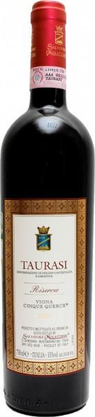 """Вино Salvatore Molettieri, """"Cinque Querce"""" Riserva, Taurasi DOCG, 2004"""
